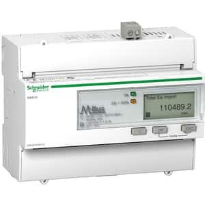 Contor trifazat SCHNEIDER A9MEM3335, 125A, 480V, IP20, alb