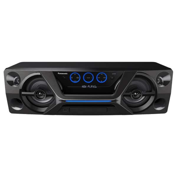 Minisistem audio Panasonic SC-UA3E-K, 300W, Bluetooth, USB, CD, Radio FM, Full Karaoke, negru