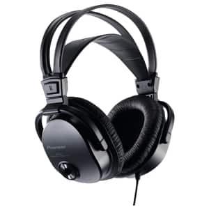 Casti PIONEER SE-M521, Cu Fir, Over-Ear, negru