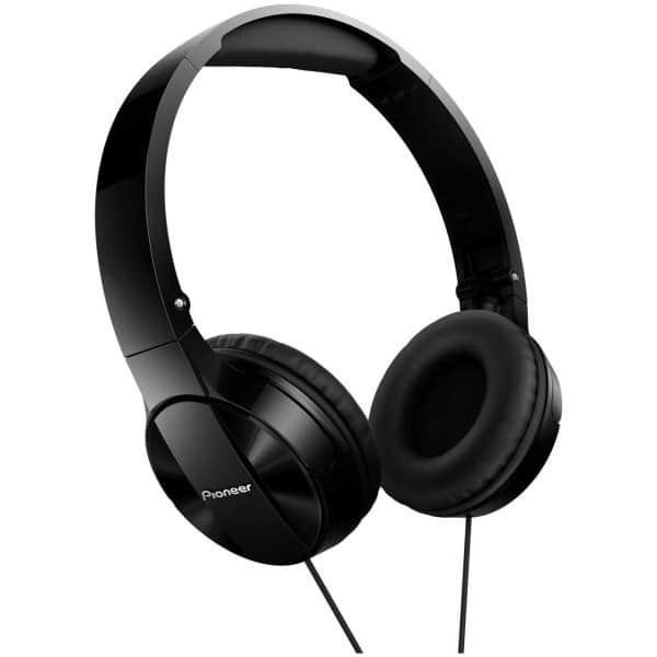 Casti PIONEER SE-MJ503-K, Cu Fir, On-Ear, negru