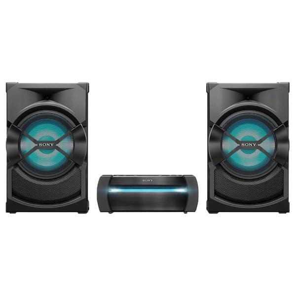 Sistem audio High Power SONY SHAKE-X30D, Bluetooth, NFC, USB, DVD, Party music, Dolby Digital, negru
