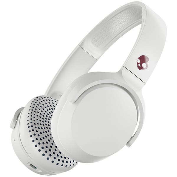 Casti SKULLCANDY Riff S5PXW-L635, Bluetooth, On-Ear, Microfon, alb