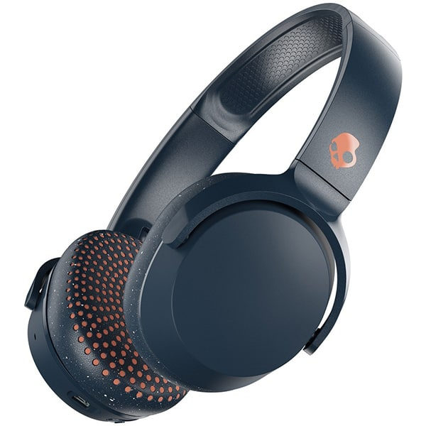 Casti SKULLCANDY Riff S5PXW-L673, Bluetooth, On-Ear, Microfon, albastru