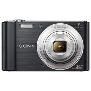 Aparat foto digital SONY DSC-W810, 20.1 MP, negru