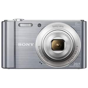Aparat foto digital SONY DSC-W810, 20.1 MP, argintiu