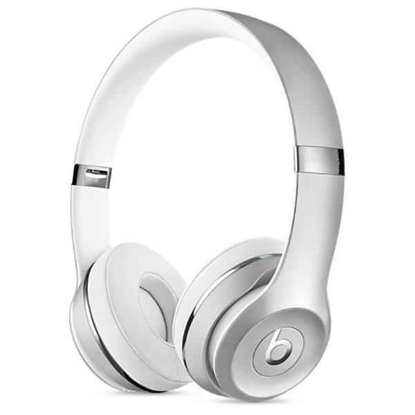 Casti BEATS Solo3, Bluetooth, On-Ear, Microfon, argintiu