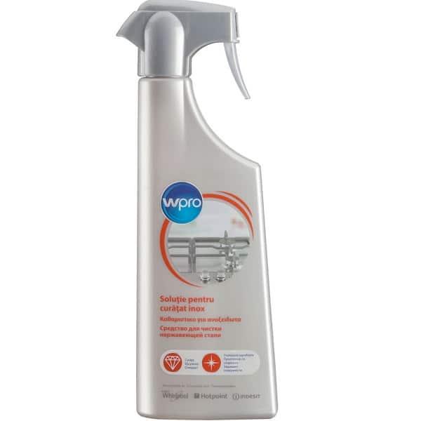 Spray pentru curatat suprafete inox WPRO 484000008493, 500 ml