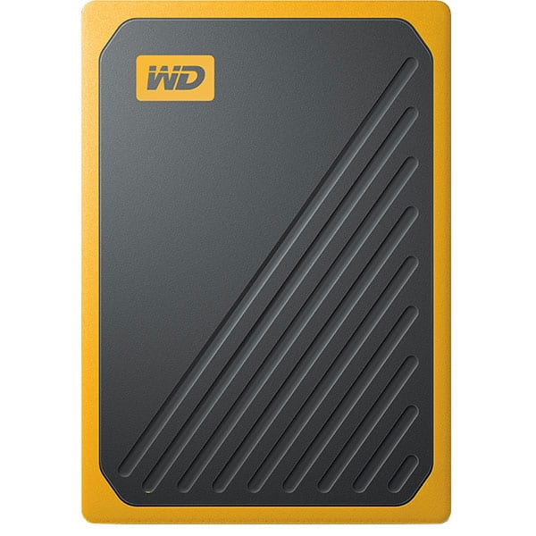 SSD portabil WD My Passport Go WDBMCG0020BYT-WESN 2TB, USB 3.0, negru-galben