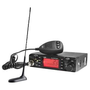 Kit statie radio CB PNI Escort HP 9001 ASQ + Antena CB PNI Extra 45 cu magnet