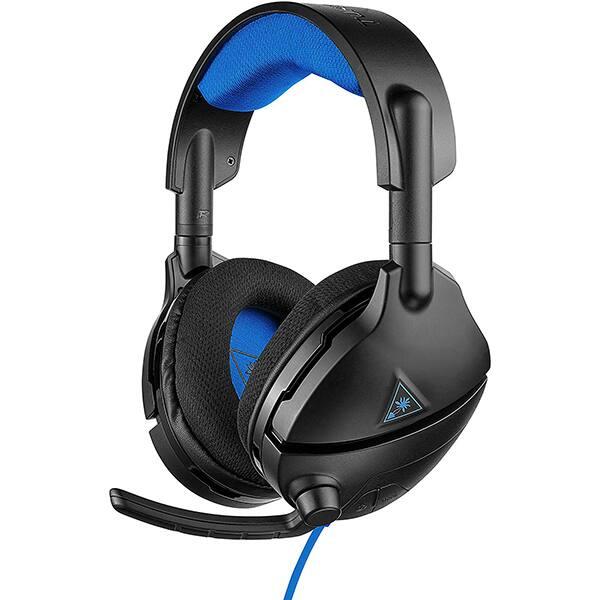 Casti Gaming TURTLE BEACH Stealth 300P, amplificare, 3.5mm, negru-albastru