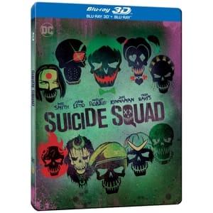 Brigada sinucigasilor Steelbook Blu-ray 3D