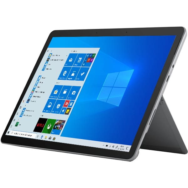 "Laptop 2 in 1 MICROSOFT Surface Go 2, Intel Core m3-8100Y pana la 3.4GHz, 10.5"" Touch, 8GB, SSD 128GB, Intel UHD Graphics 615, Windows 10 S, platinum"