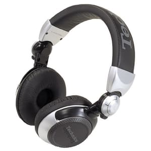 Casti TECHNICS RP-DJ1210E-S, Cu Fir, On-Ear, argintiu