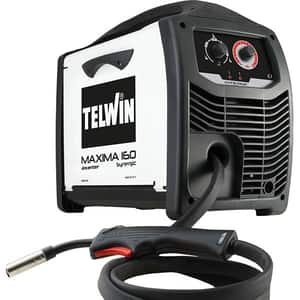 Invertor sudura TELWIN Maxima 160 Synergic, MIG/MAG, 150A, 2.6kW, diametru sarma FLUX 0.8 - 1.2 mm