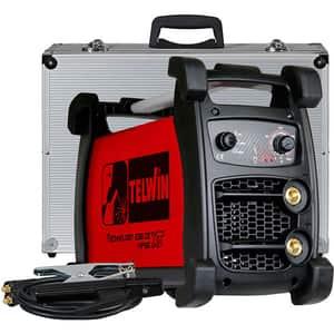 Invertor de sudura TIG-DC TELWIN 238 CE/MPGE XT CC, 5-200A, 6.3kW + valiza accesorii