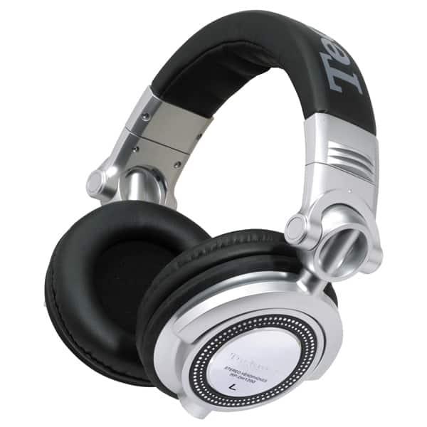 Casti TECHNICS RP-DH1200E-S, Cu Fir, On-Ear, argintiu