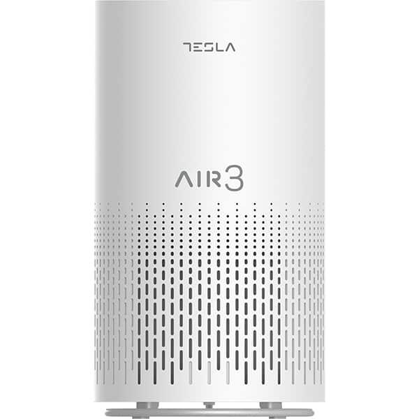 Purificator de aer TESLA Air 3, 3 trepte viteza, Hepa, Wi-Fi, alb