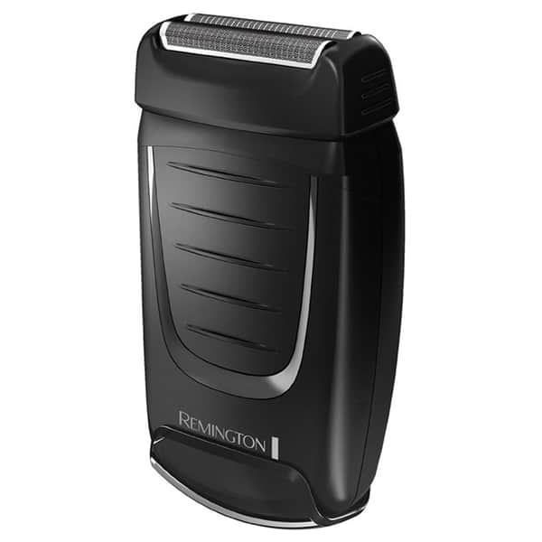 Aparat de ras pentru voiaj REMINGTON Dual Foil TF70, baterii, autonomie 60 min, Site duble flexibile, negru