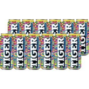 Bautura energizanta TIGER Bubble Gum bax 0.5L x 12 cutii