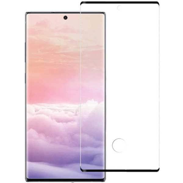 Folie Tempered Glass pentru Samsung Galaxy Note 10, TELLUR Full Glue, TLL145313, 3D, negru