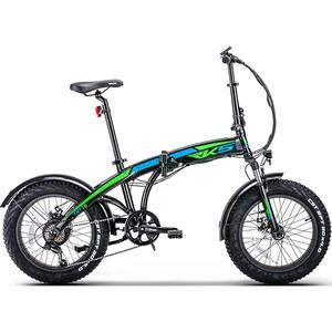 Bicicleta electrica RKS TNT-15, 20 inch, negru