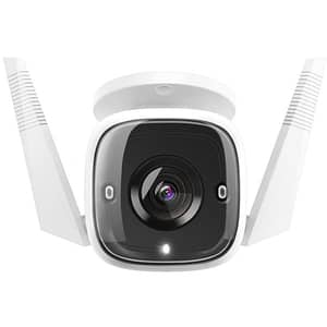 Camera IP Wireless TP-LINK Tapo C310, Ultra HD 1296p, IR, Night Vision, alb