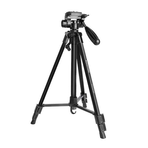 Trepied foto PROMATE Precise 140, 141 cm, negru