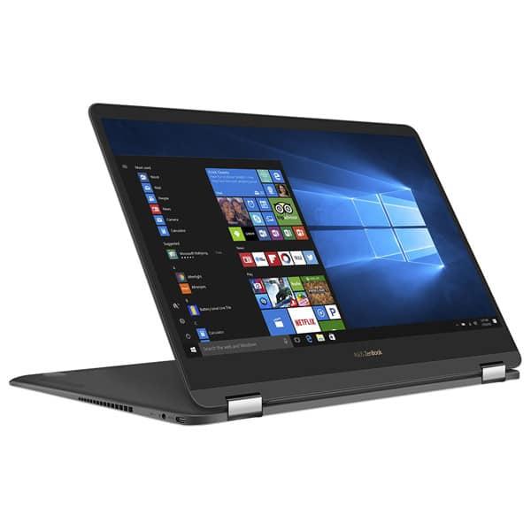 "Laptop 2 in 1 ASUS ZenBook Flip S UX370UA-C4229T, Intel® Core™ i7-8550U pana la 4.0GHz, 13.3"" Full HD, 16GB, SSD 256GB, Intel® UHD Graphics 620, Windows 10 Home"
