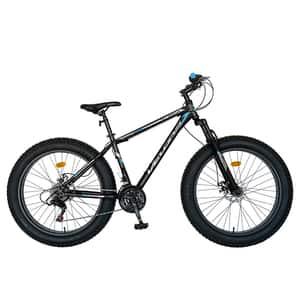 "Bicicleta Fat Bike VELORS C2619B 26"", Otel, negru-albastru"