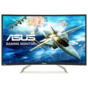 "Monitor Gaming curbat ASUS VA326H, 31.5"", Full HD, 144Hz, negru"