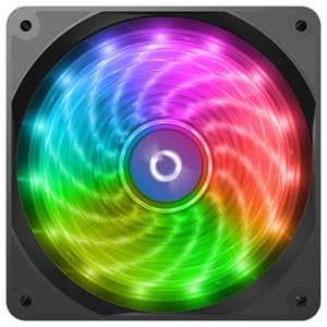 Ventilator AQIRYS Cetus, 120mm,  4P-12LD12-RGB