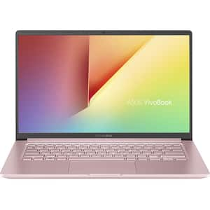 "Laptop ASUS VivoBook 14 X403FA-EB020, Intel Core i5-8265U pana la 3.9GHz, 14"" Full HD, 8GB, SSD 512GB, Intel UHD Graphics 620, Endless, Petal Pink"