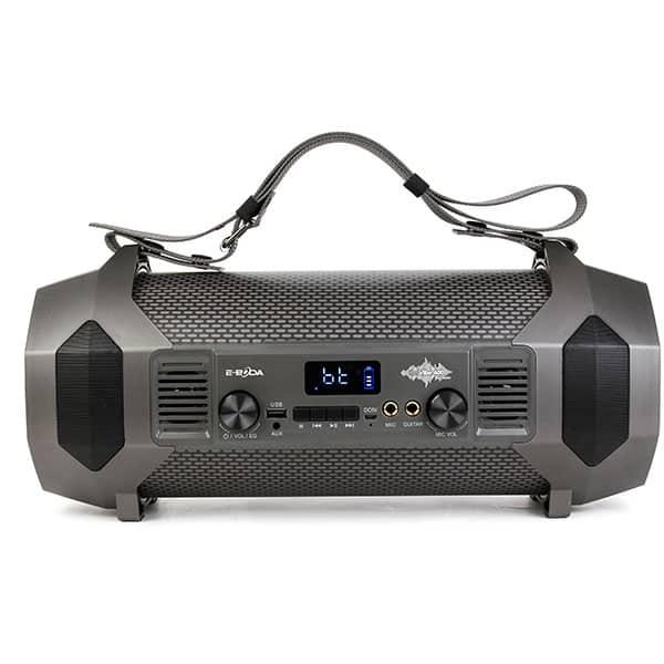 Boxa portabila E-BODA The Vibe 400, Bluetooth, MicroSD, Radio FM, negru