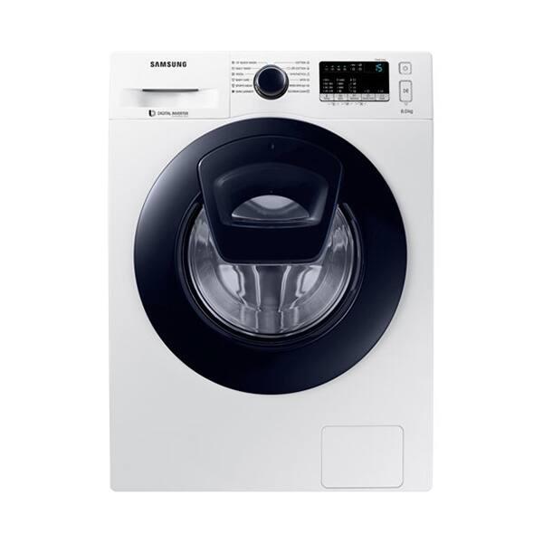 Masina de spalat rufe frontala SAMSUNG WW80K44305W/LE, Addwash, 8kg, 1400rpm, Clasa A+++, alb