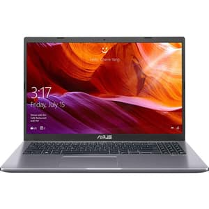 "Laptop ASUS A509FA-BQ366, Intel Core i7-8565U pana la 4.6GHz, 15.6"" Full HD, 8GB, SSD 256GB, Intel UHD Graphics 620, Endless, gri"