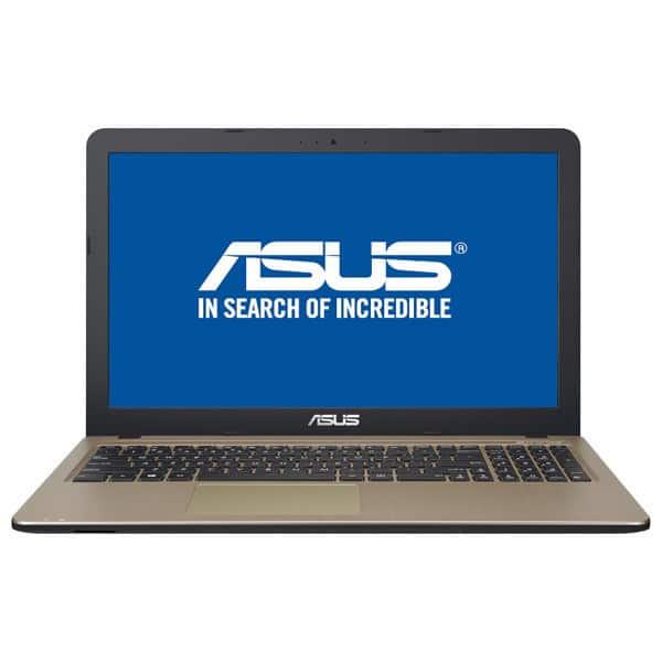 "Laptop ASUS X540MA-GO551, Intel® Celeron® N4000 pana la 2.6GHz, 15.6"" HD, 4GB, 1TB, Intel UHD Graphics 600, Endless, Chocolate Black"
