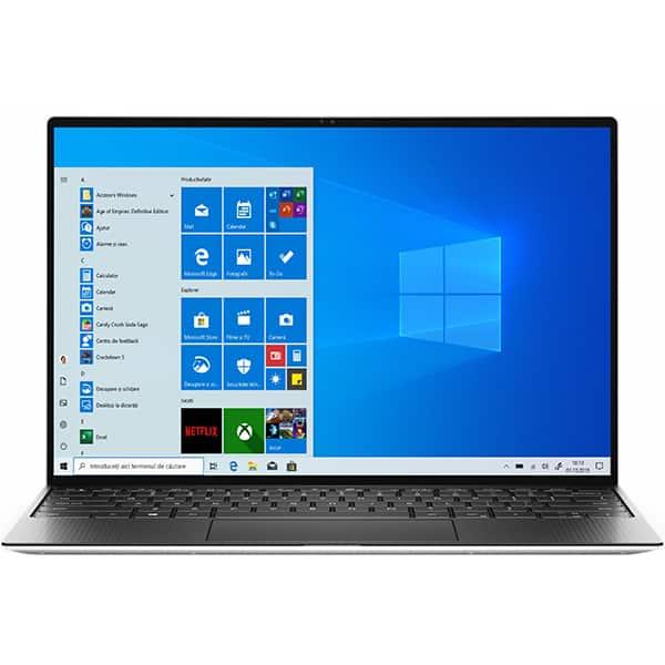 "Laptop DELL XPS 13 9300, Intel Core i7-1065G7 pana la 3.9GHz, 13.4"" Full HD+, 16GB, 1TB, Intel Iris Plus Graphics, Windows 10 Pro, gri"